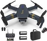 XTREME STYLE ✈️ XS89FPV Mini Drohne mit Dual Kamera 4K UHD. 50x D-Zoom . 2 Akkus. 30 min Flugzeit. 120m. Faltbarer, stylischer RC Quadrocopter für Kinder und Anfänger. Viele Flug-Modi. Koffer und LED