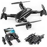 SNAPTAIN SP500 Faltbare GPS FPV Drohne mit 1080P Full HD Kamera-Live-Video, GPS Drohne mit GPS-Heimkehr und Gestensteuerung, Kreis fliegen, Follow-Me-Modus und 5G WiFi Übertragung