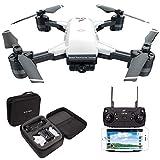 LE-IDEA Drohne IDEA10 - Faltbare GPS Drohne mit 1080P 120° FPV Wifi Kamera HD live übertragung - Return Home - Follow Me,Quick Shot RC Helikopter,Anfänger und Experte,Tragetasche-Garantie für 6 Monate