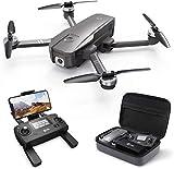 Holy Stone HS720 Faltbare GPS Drohne mit 4K Kamera Full-HD Live Übertragung,RC Quadcopter mit bürstenloser Motor,26 Min. Lange Flugzeit,Follow Me,5G WLAN FPV,Handy gesteuert inkl. Koffer für Anfänger