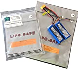 PREMIUM Lipo Tasche 18x22 cm | deutsche Marke BRD | feuerfest Akku Sicherheitstasche |Feuer Sicherheit | Safe Brandschutztasche |Safebag | molinoRC