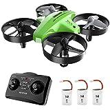 ATOYX Mini-Drohne für Kinder und Anfänger: RC Quadcopter-Drohne, Hubschrauberflugzeug mit Höhenhaltefunktion, 3D-Flips, Headless-Modus, 3 Batterien, großartiges Geschenkspielzeug für Kinder