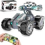 HBUDS RC Car Fernbedienungsauto mit HD-Kamera, Hochgeschwindigkeitsrennen im Gelände, Aufladeschwerkraftsensor Rc Truck für Kinder & Erwachsene