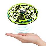 Baztoy UFO Mini Drohne, Kinderspielzeug RC Quadcopter Infrarot-Induktions-Flying Ball mit Fernbedienung Fliegendes Spielzeug Geschenke für Jungen Mädchen Indoor Outdoor Fliegender Ball