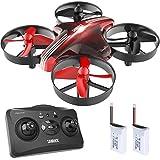 SANROCK GD65A Mini Drohne für Kinder und Anfänger, RC Drone Quadrocopter mit Höhe-halten, Kopflos-Modus, EIN-Tasten-Rückkehr, Best Spielzeug Drone für Kinder, mit zusätzlicher Batterie