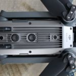 DJI Mavic Pro Drohne reinigen Sensoren an der Unterseite