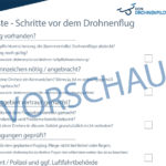 Checkliste vor dem Drohnenflug Vorschau