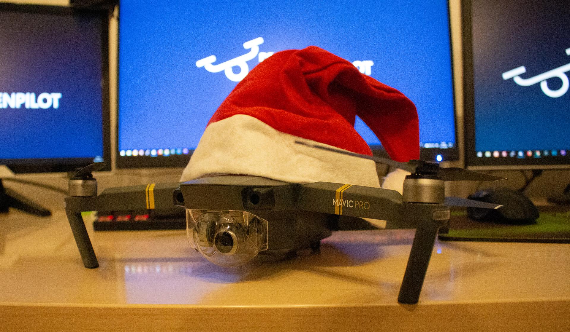 Drohnen Weihnachtsgeschenk Coverbild