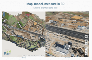 Drohnen Einsatzgebiete 3D-Modell Mapping